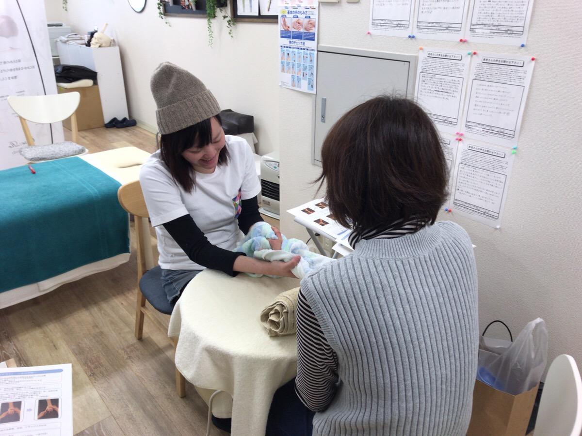 新潟 ハンドセラピスト ハンドセラピー ABC